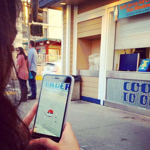 Pokémon Go app (Photo by AJW)