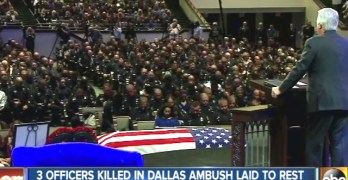 Thousands gather to mourn, honor slain officers in Dallas — Sgt. Michael Smith was an immigrant from Taiwan