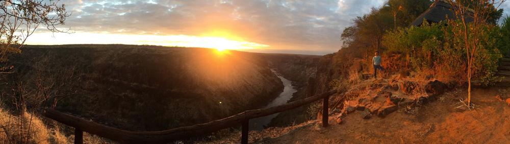 Sunrise at Gorges Lodge (Credit: S. Wittet)