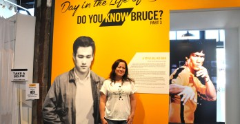 """A Day in the Life of Bruce"" opens at Wing Luke"