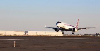 New Mitsubishi jet being tested in Moses Lake