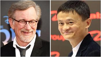 Steven Spielberg and Jack Ma
