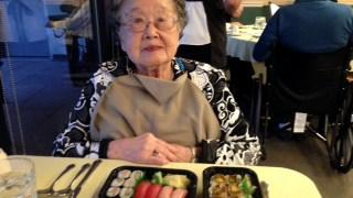 Shuko Hara celebrates 103 years