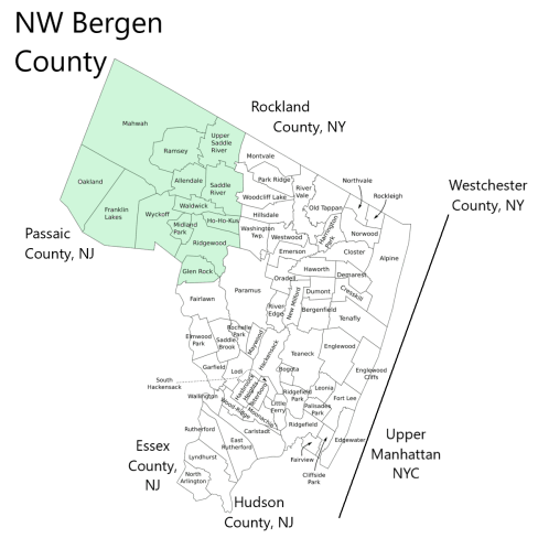 New Construction in Bergen County