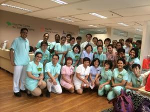 Dr Ng Wai Chong hosting SGH community patient navigators