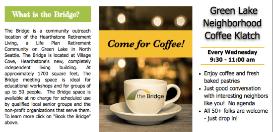 Bridge Coffe Klatch