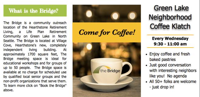 Bridge Coffe Klatch