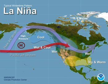 La Nina Winter Pattern