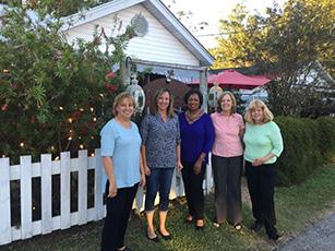 Pam, Kendra, Marjorie, Janice and Cheryl