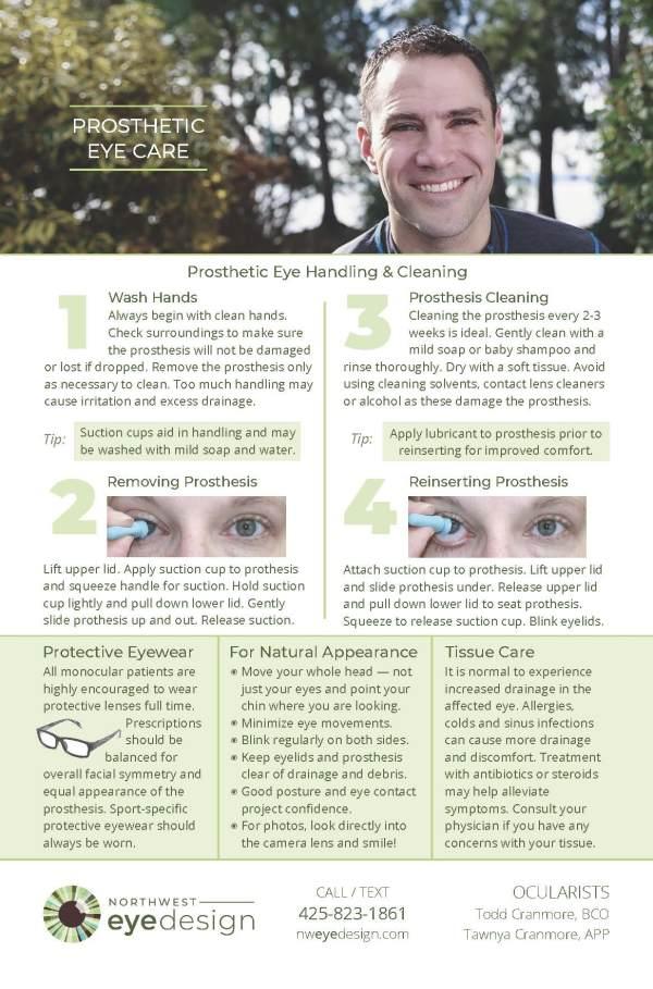 Image of Eye Care Kit Card