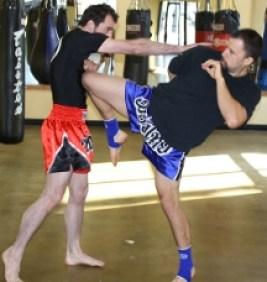 Kickboxing gym in portland