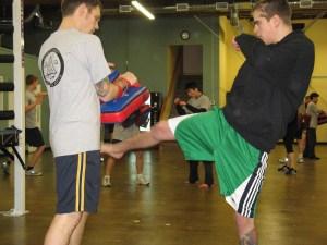 Muay Thai Street Fight