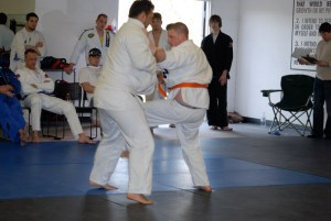 Jiu jitsu fitness training