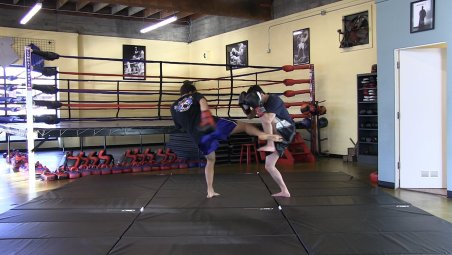 muay thai kickboxing in portland