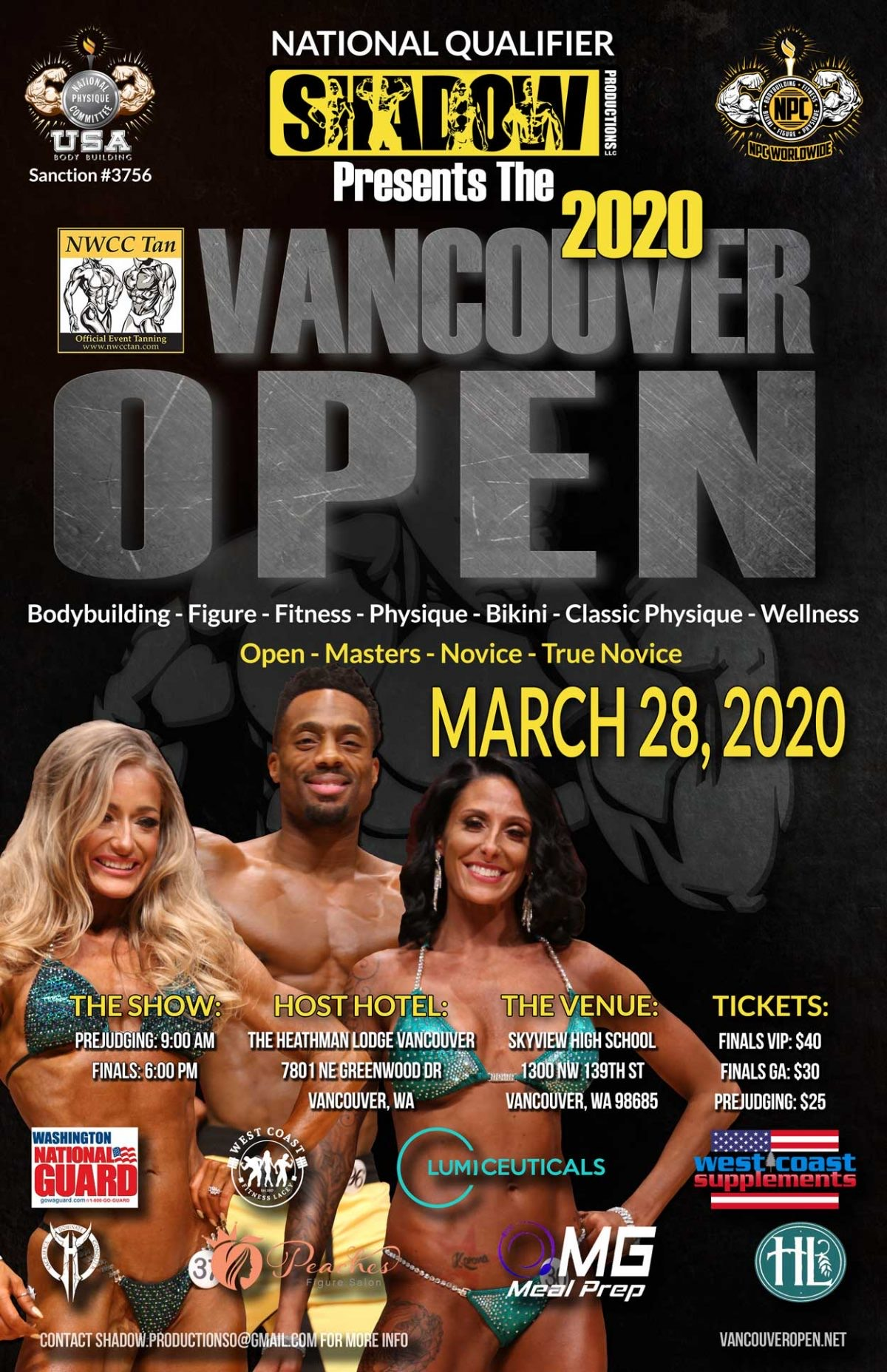N.P.C Vancouver Open & Fitness Expo