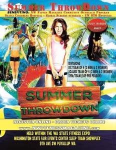 Summer Throwdown presented by Crossfit Agathos & NW Fitness Magazine