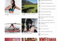 NW Fitness Magazine – Contents (Cover-Elisabeth Fournier)