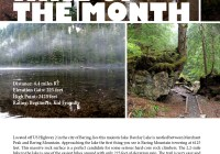 Hike of the Month Barclay Lake