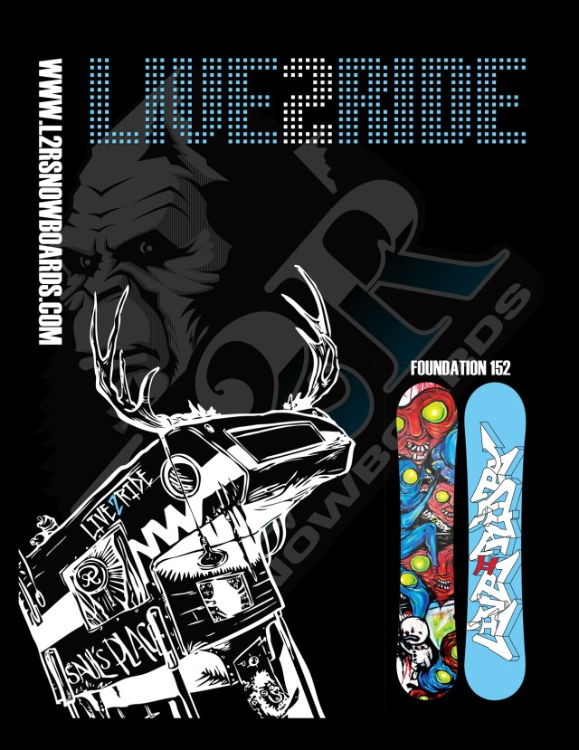 Live 2 Ride - Snowboards