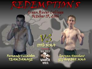 The Redemption 8 Ameteur MMA Fights