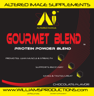 Gourmet Blend Protein Powder - Altered Image Supplements