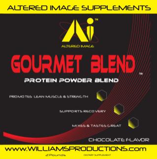 Gourmet Blend Protein Powder - Altered Image Supplements