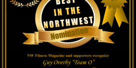 "Guy Overby ""Team O"" NW Fitness Magazine, Best in the NW -Contest Prep Coach, Nutrition Coach, Posing Coach,"