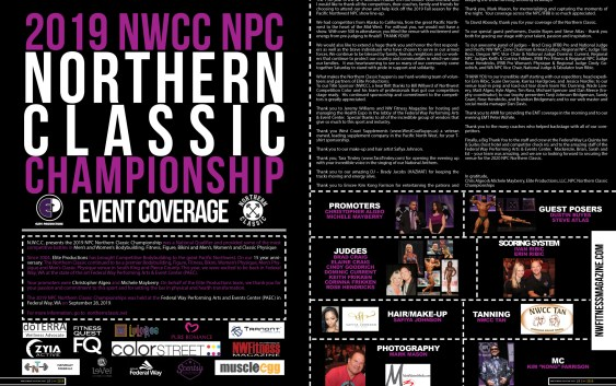 2019 N.P.C Northern Classic Championship - Event Coverage Feature - NW Fitness Magazine.