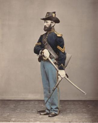 A Union Corporal in uniform