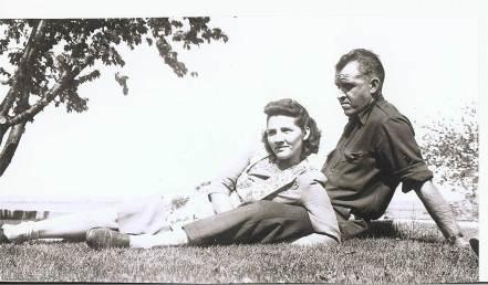 Grandma Emma and Grandpa Bill