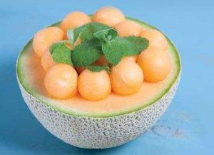 Honey Lime Cantaloupe