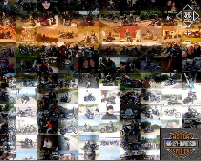 H-D 2010 Catalog Mosaic - CloseUp