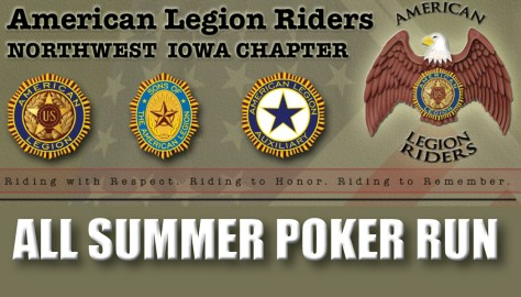 Northwest Iowa ALR All Summer Poker Run