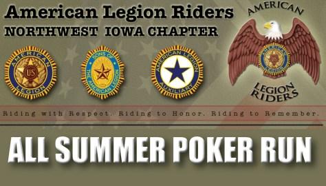 Northwest Iowa ALR All Summer Poker Run