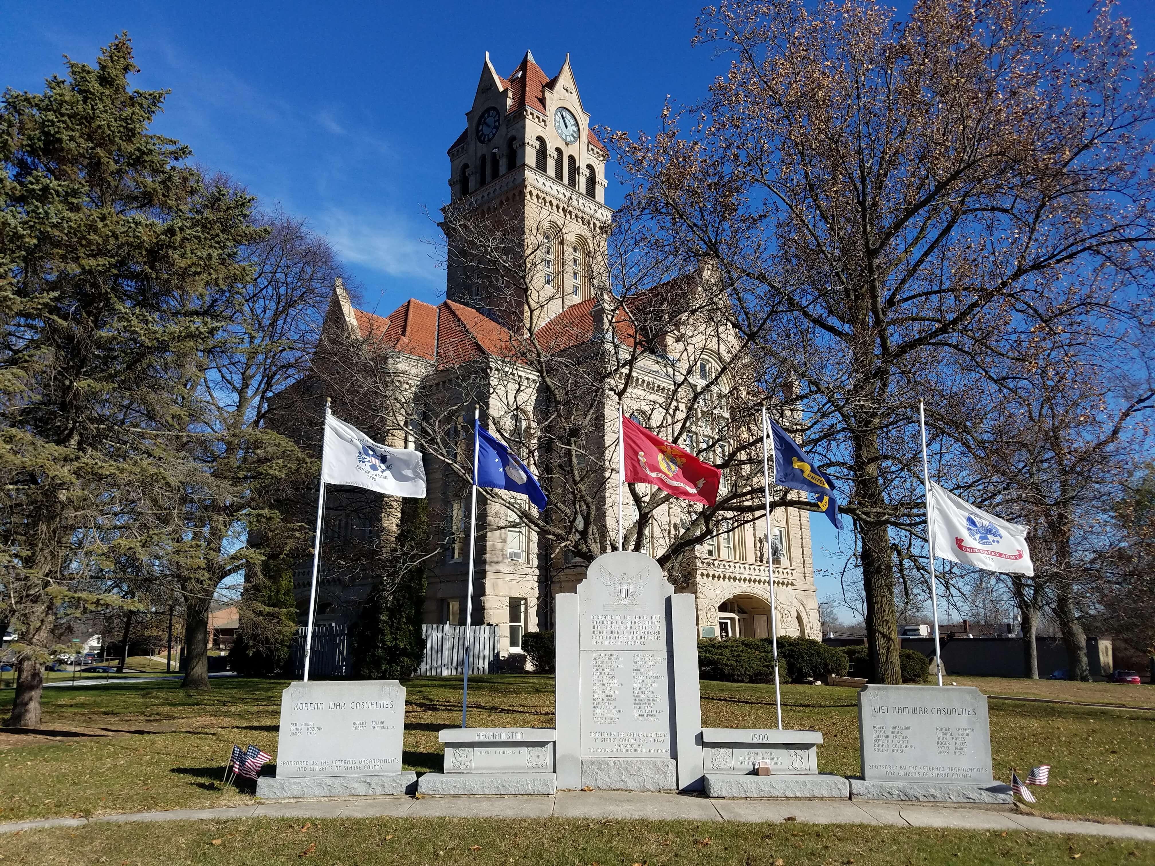 historic memorial Knox IN