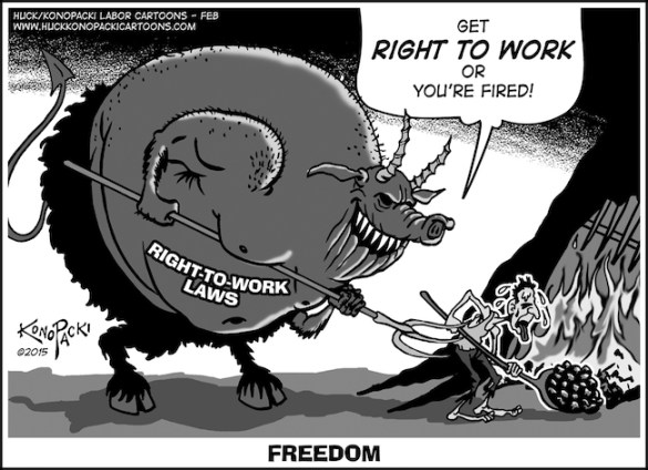 Right to Work = Freedom