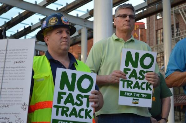 No Fast Track rally