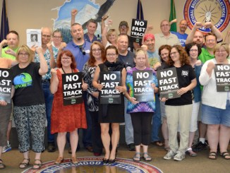 Congressional Supporters of Fast Track will not be invited to attend or speak at this year's big Labor Day picnic at Oaks Park.  On June 22, delegates to the Northwest Oregon Labor Council — which sponsors the picnic — voted to withhold invitations to those who voted for fast tracking free trade agreements. That includes U.S. Sen. Ron Wyden, and U.S. Reps. Earl Blumenauer, Suzanne Bonamici, and Kurt Schrader — all Democrats.