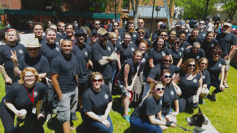 Finally: Stagehands at Oregon Shakespeare Festival have