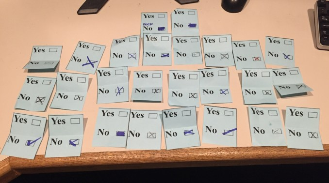 """IATSE members at KGW vote to reject Tegna's """"best"""" offer by a vote of 26-0."""