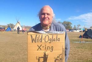 "Roben White, a retired union painter and former president of Portland-headquartered Painters Local 10, is also a member of the Oglala Lakota tribe. ""These are peaceful, prayerful people,"" he said of the Standing Rock protest."