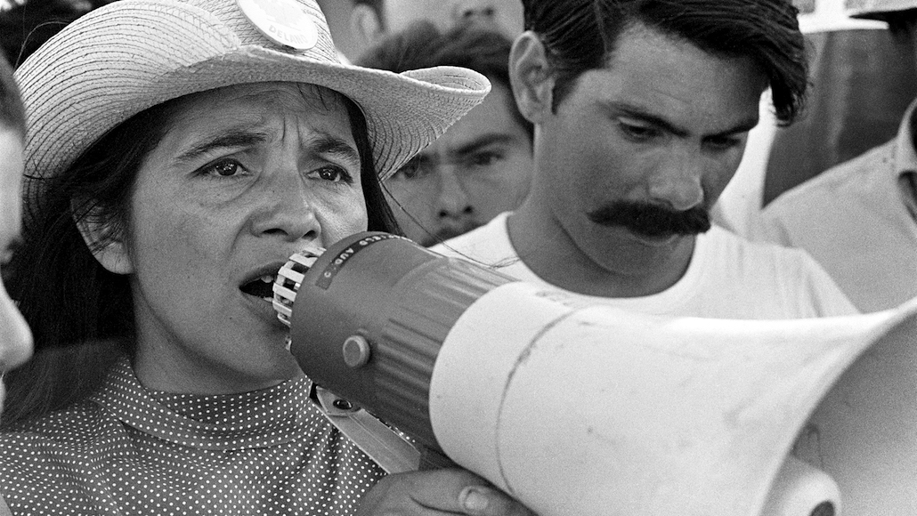 New documentary film looks at the life of farmworker union leader Dolores Huerta
