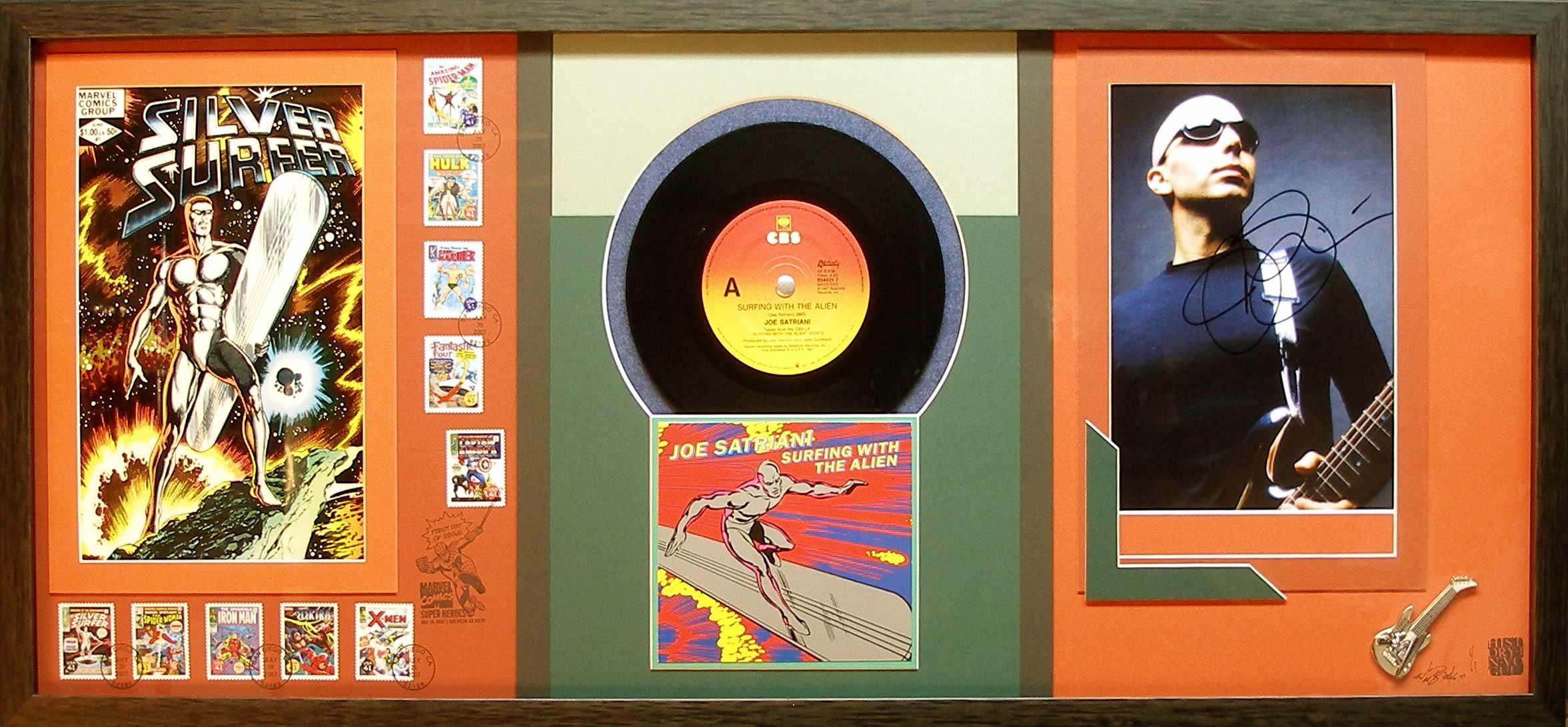 This custom encompasses more than 27 years of Silver Surfer and Joe Satriani history...