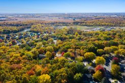 St Michael MN Aerial View