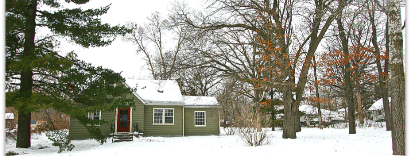 Home in the Winter Snow