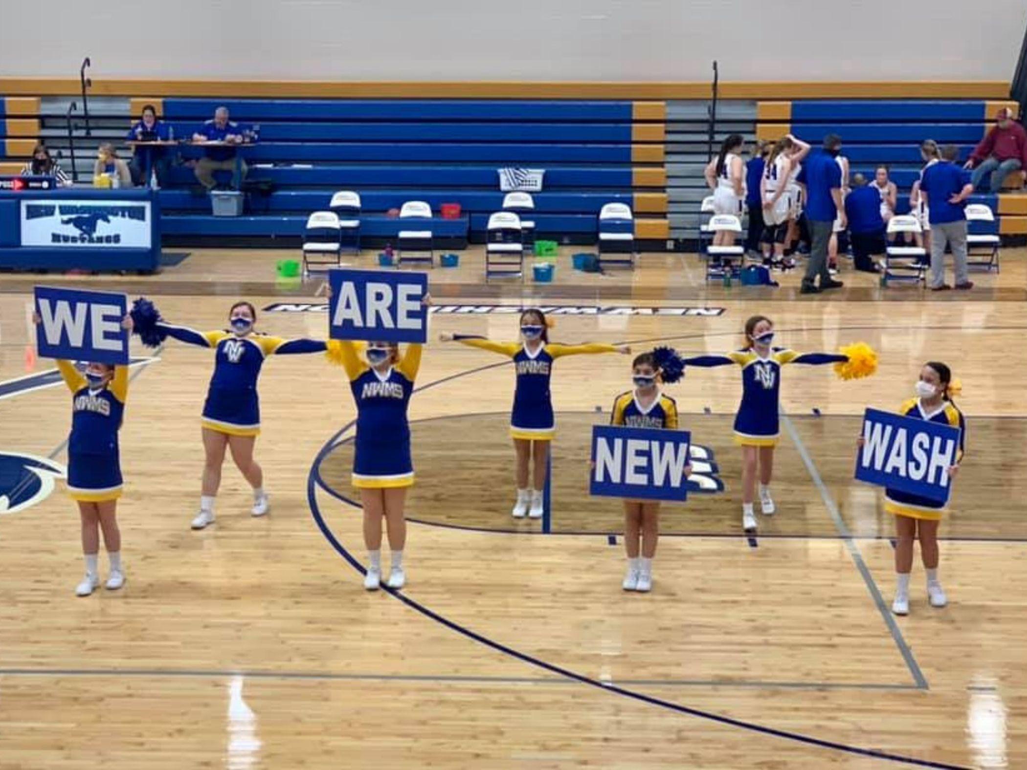 NWMHS Cheer Team
