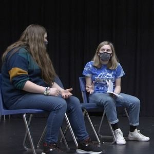 Theatre class at NWMHS