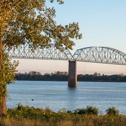 USA: Kentucky, Ohio and Tennessee River Confluence,