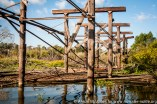 USA: Louisiana, the Atchafalaya Basin, abandoned Bayou Sorrell Shell OIl Field