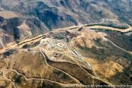 Ethiopia: Upper Omo River Basin, dry season, construction of Gibe 3 Dam